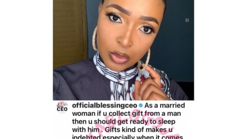 As a married woman, if you collect gift from a man, then you should be ready to sleep with him — Relationship expert, Blessing Okoro