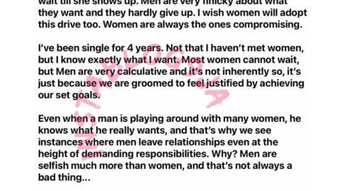 Men hardly compromise their standards — Life Coach, Solomon Buchi [Swipe]