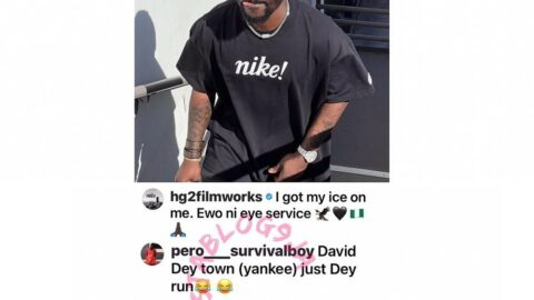 Davido fan gets diagnosed for senselessness by Filmmaker Hg2Films, at his comments clinic