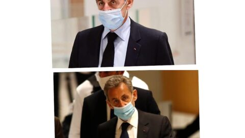 Former French president Nicolas Sarkozy sentenced to three years for corruption . .