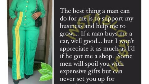 Some men will spoil you with expensive gifts but can never set you up for growth — Actress Didi Ekanem