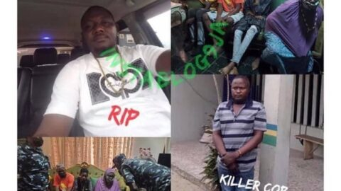 Cop dismissed for shooting dead a Lagos businessman who questioned him