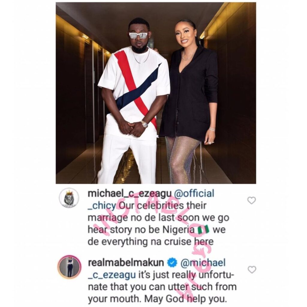 AY comedian's wife replies a man waiting for their marriage to crash