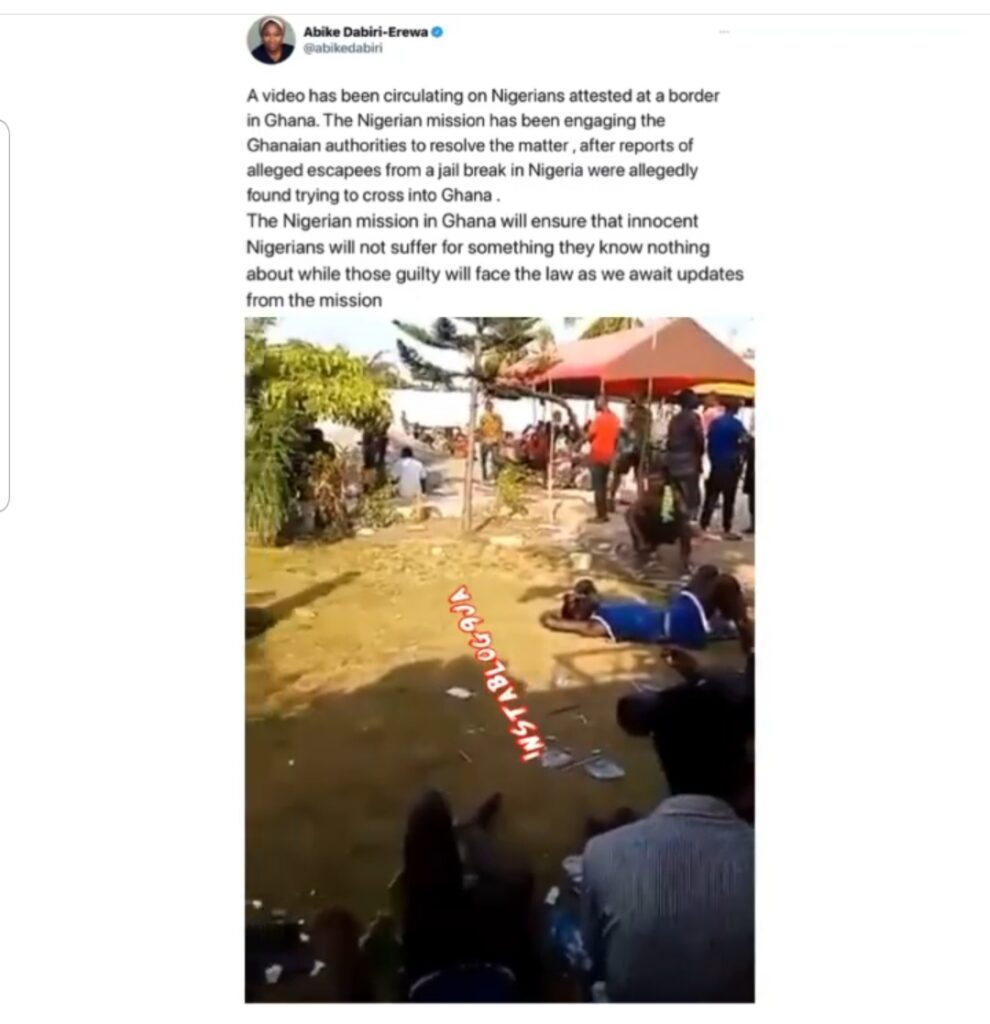 FG reacts to viral video showing the condition of ... Image