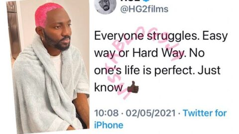Easy or Hard way, everyone struggles. Filmmaker HG2 points out no one is perfect.