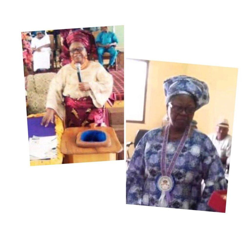 Author of Nigeria�s National Pledge, Prof. Adedoyi... Image