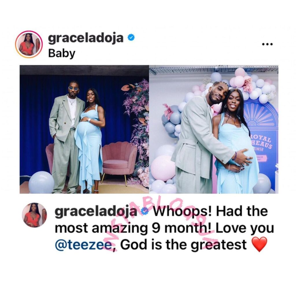 Rapper Teezee welcomes a child with ex-Gov. Ladoja... Image