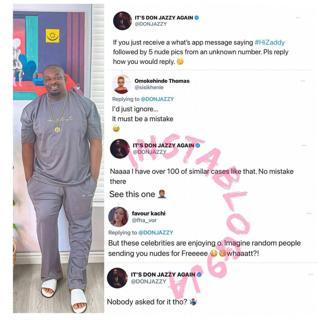 Donjazzy seeks urgent help as over 100 admirers bo... Image
