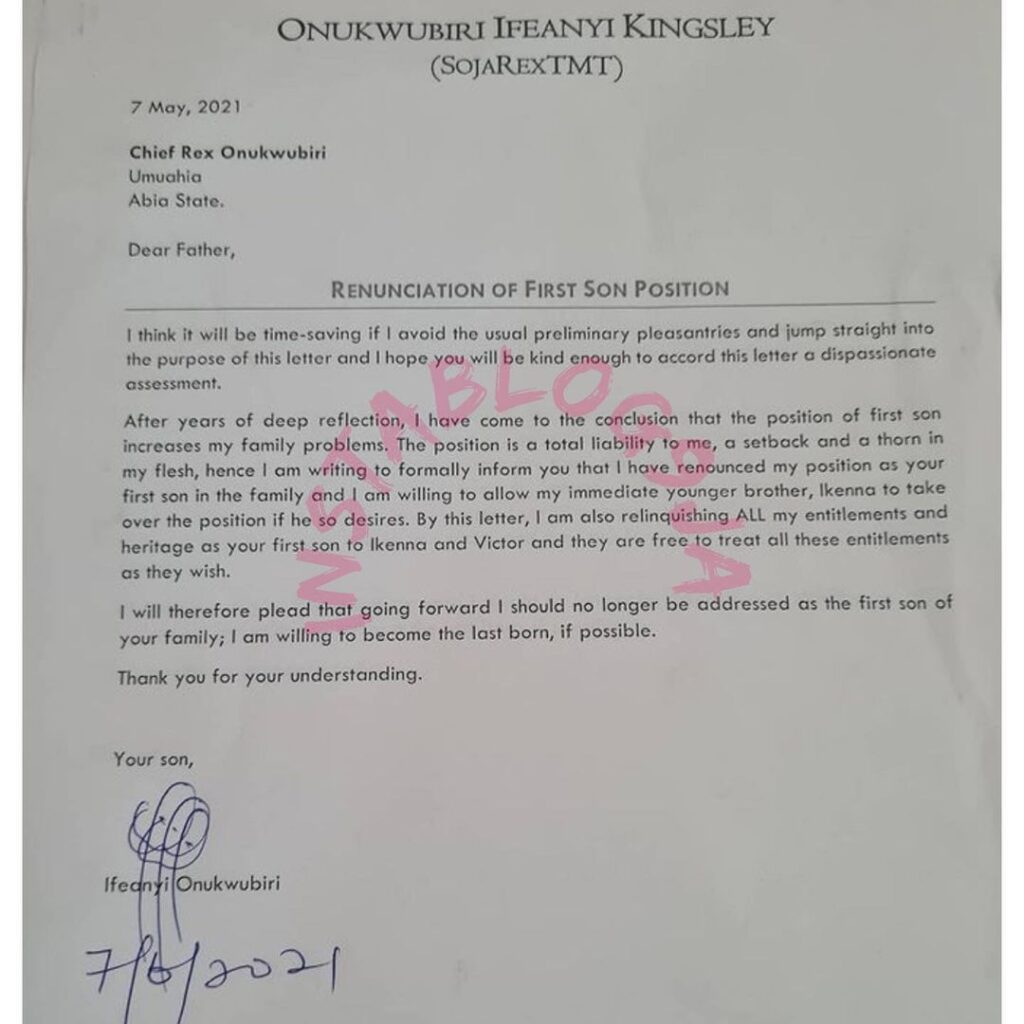 Nigerian businessman officially gives up his posit... Image