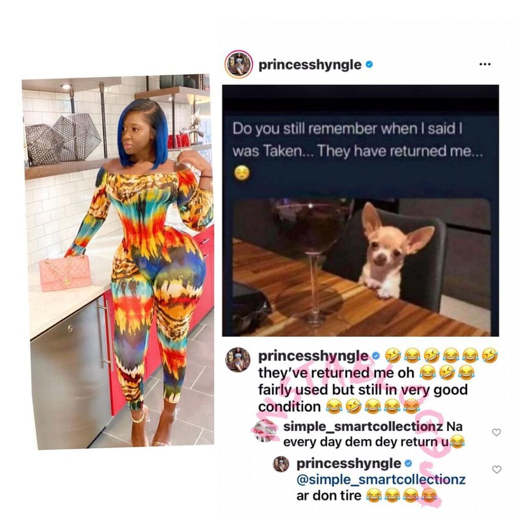Actress Shyngle reveals her engine condition after... Image