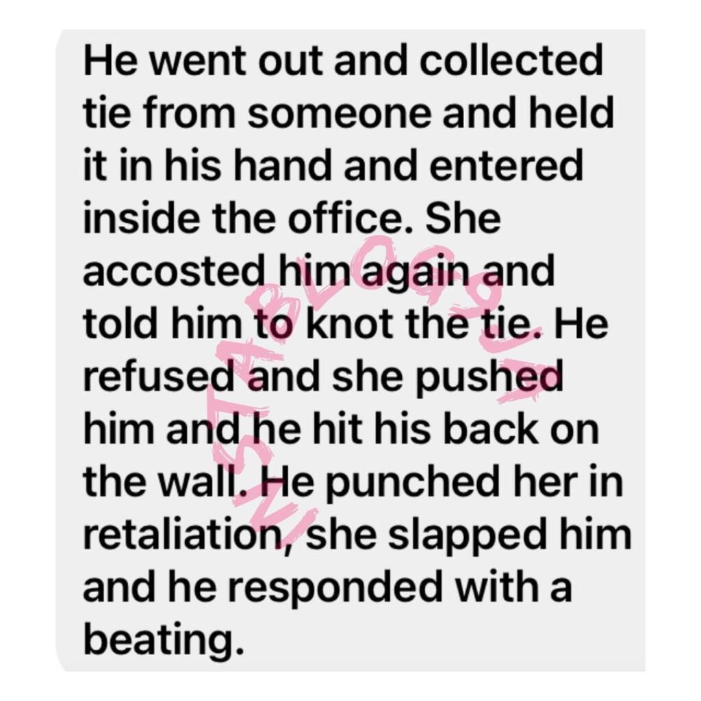 ABUAD student seen fighting a female staff over th... Image