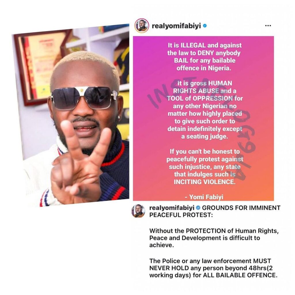 Keeping Baba Ijesha without bail is illegal, relea... Image