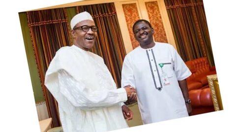 Pres. Buhari is a kind bully willing to knock sense into contumacious heads — Presidential aide Femi Adesina .