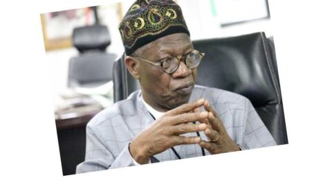 Just In: House of Reps summons Lai Mohammed over Twitter suspension