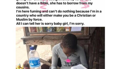 Fashion model Adetutu mad that her daughter was given Christian assignments in school despite not being a Christian or Muslim