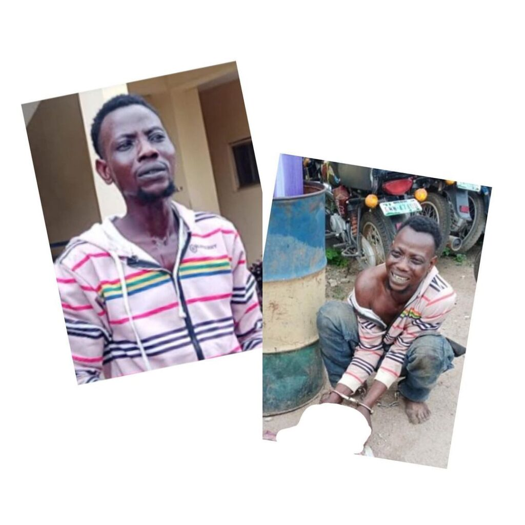 Man in tears after being arrested for colluding with his friend to kill his girlfriend for ritual immediately after s*x .