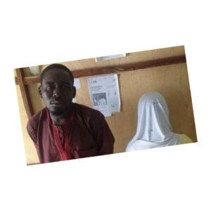 39-yr-old man caught defiling a mentally-challenged minor under a tree .