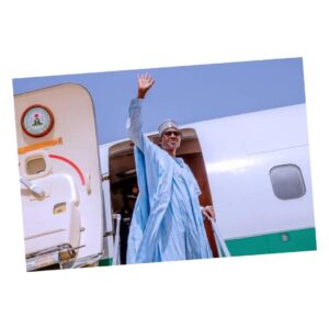 President Buhari jets to London for health check-up
