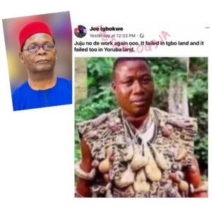 Nnamdi Kanu-Sunday Igboho: Juju has failed — Gov. Sanwoolu's aide Joe Igbokwe