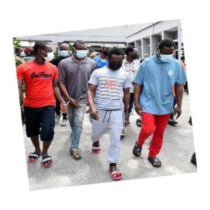 10 Nigerian pirates jailed for hijacking Chinese ship .