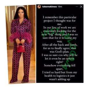 Never ever put your trust in man and kiss *ss — Media personalty, Toke Makinwa, wears her motivational boots [Swipe]