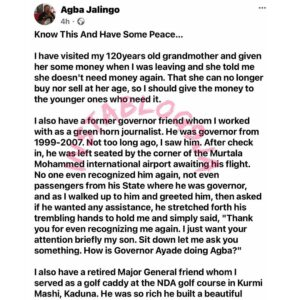 Nothing ever remains where it is. Know it and have peace — Journalist Agba Jalingo [Swipe]