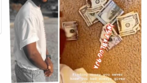 Rapper YungSix excited to finding almost N100k in his house while doing laundry