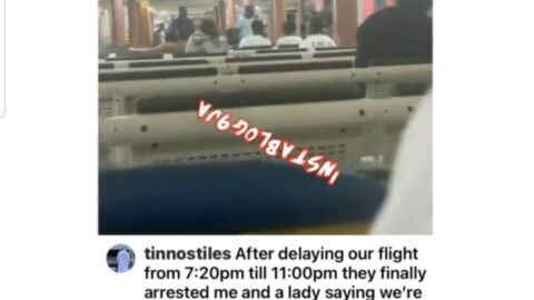 Airline passengers allegedly arrested for complaining about flight delay in Lagos [Swipe]