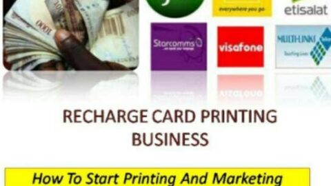 Are you looking to start recharge card printing business? Do you know you can start making money from first day of starting recharge card printing business?