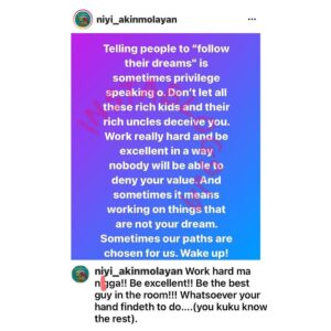 Don't mind those telling you to follow your dreams — Filmmaker Niyi Akinmolayan [Swipe]