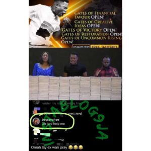What God Cannot Do Doesn't Exist: Singer Omahlay's ex-girlfriend takes her matter to the Lord in prayer [Swipe]