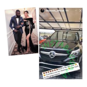 Tailor Yomi Makun gifts his wife, Grace, a multimillion Naira Benzo