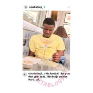 I should have been a footballer, Nigerian politics is not easy — Ondo lawmaker, Tajudeen Adefisoye