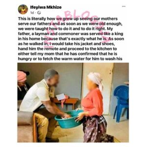 Marriage: I'll continue to embrace the way my mom served her husband like a king — Media Personality Ifeyiwa. [Swipe]