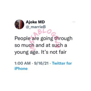 Young people are going through a lot — Medical doctor