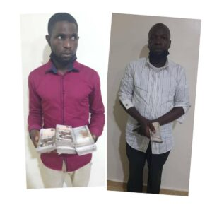 Two arrested for offering bribe to police officers in Lagos