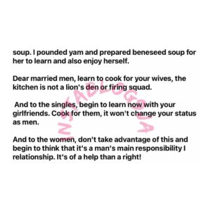 """""""The kitchen isn't a lion's den,"""" Gov. Ayade's aide says, as he advises men to cook for their wives [Swipe]"""