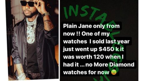 After a painfully bad financial decision, singer Davido vows to do better [Swipe]