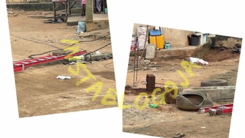 Just In: PHCN official hospitalized after  an electricity pole he was working on, fell in Arepo, Ogun state [Swipe]