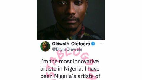 I'm the most innovative artiste in Nigeria — Singer Brymo declares