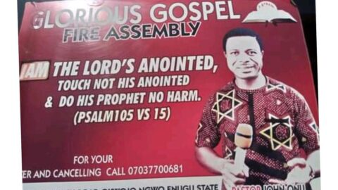 Police stray b*llet k*lls pastor during morning devotion in his house