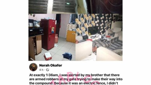 How EFCC broke into our compound in the midnight, ass*ulted us and dam*ged our properties — Journalist Norah [Swipe]