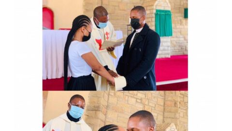 Lady shares photos from her private wedding