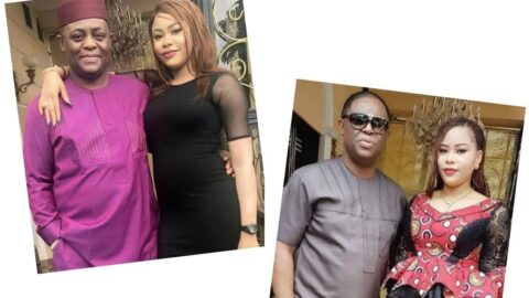Fmr Minister of Aviation, Fani-Kayode's estranged wife, Precious, sues him for N800m .
