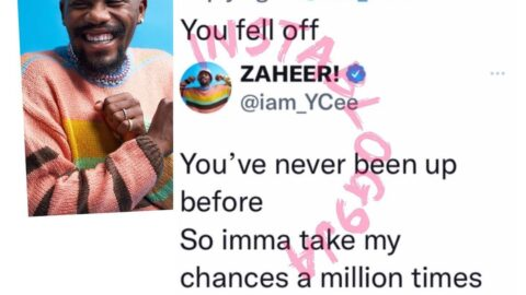 Rapper Ycee floors a tr*ll