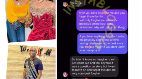 Bobrisky's ex-PA, Oye, secretly apologizes to Mompha over relationship claim