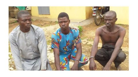 Man arrested for allegedly k*lling his own 14-yr-old brother for money rit*al in Kwara .