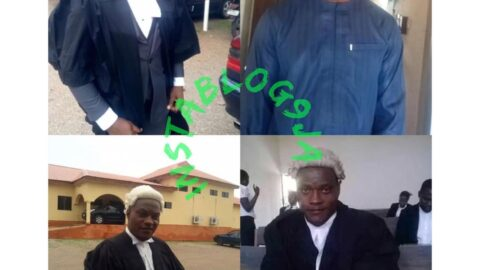 Lawyer p*unches Defense Counsel during a court hearing in Gombe Court .