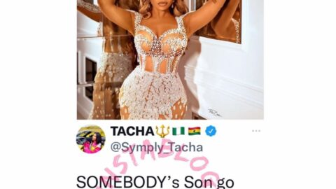 Reality TV Star, Tacha, reveals one of her earnest prayers