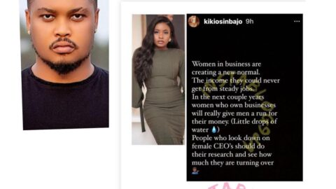 Succeed for yourself. We are not competing — Actor Bryan Emmanuel tells VP Osinbajo's daughter, Kiki